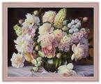 Алмазная живопись Набор алмазной вышивки Пышный букет (АЖ-1509) 50х40 см