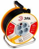 ЭРА RP-4-2x1.0-50m Удлин-ль силовой пласт. катушка без зазем. 50м 4гн 2х1мм2 (2/36)