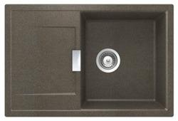 Врезная кухонная мойка Schock Eton 50D 76.5х51см искусственный гранит