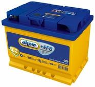 Автомобильный аккумулятор Аком + EFB 62