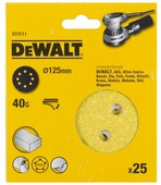 Шлифовальный круг на липучке DeWALT DT3111-QZ 125 мм 25 шт