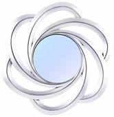Зеркало Русские подарки настенное 237911 24х24 в раме