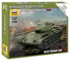 Сборная модель ZVEZDA Советский средний танк Т-44 (6238) 1:100