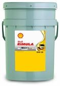 Моторное масло SHELL Rimula R4 Multi 10W-30 20 л