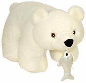 Подарочный набор ПоДари Белый мишка 1000 г