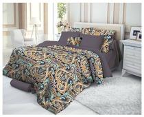 Постельное белье 1.5-спальное Verossa Deria 50х70 см, страйп