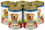 Корм для собак Happy Dog NaturLine индейка, телятина 400г