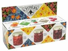 Подарочный набор варенья СУГРЕВЪ из лесных ягод 365 г