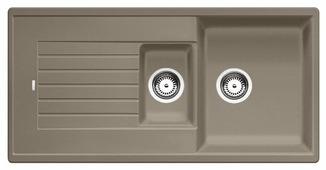 Врезная кухонная мойка Blanco Zia 6S Silgranit PuraDur 100х50см искусственный гранит