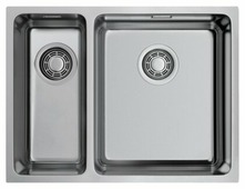 Накладная кухонная мойка OMOIKIRI Tadzava 58-2-U/IF IN-R 58х44см нержавеющая сталь