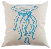 Чехол для подушки Pastel Медуза 45х45 см (1315505)