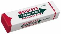 Жевательная резинка Wrigley's Spearmint без сахара 13 г