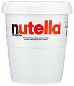 Nutella Паста ореховая с добавлением какао в ведерке