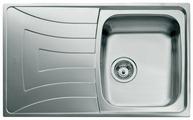 Врезная кухонная мойка TEKA Universo 1B 1D 79х50см нержавеющая сталь