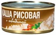 Рузком Каша рисовая с говядиной 340 г