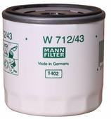 Масляный фильтр MANNFILTER W712/43