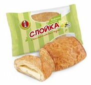 Первый хлебокомбинат Слойка с ванильно-сливочным вкусом