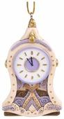 Елочная игрушка Magic Time Часы светлые (80307)