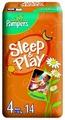 Pampers подгузники Sleep&Play 4 (7-18 кг) 14 шт.
