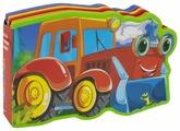 Омега Книжка EVA с вырубкой и пазлами Трактор