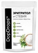 DopDrops сахарозаменитель эритритол (сладость 1:1) порошок