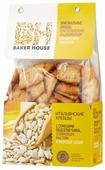 Хлебцы итальянские пшеничные BAKER HOUSE с семенами подсолнечника, оливковым маслом и морской солью 250 г