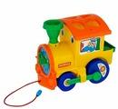 Каталка-игрушка Полесье Занимательный паровоз (5977)
