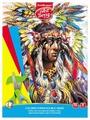 Цветная бумага Индеец ArtBerry, A4, 16 л., 8 цв.
