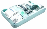 Подушка декоративная Мнушки Купюра 1000 рублей 22х42 см (Ап08ден02)