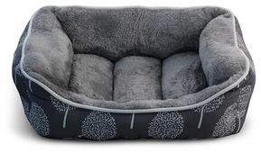 Лежак для собак, для кошек Triol Сказочный лес M прямоугольный 62х53х24 см