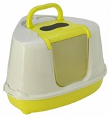 Туалет-домик для кошек Moderna Flip Corner 55.7х45.1х38.2 см