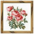 Риолис Набор для вышивания крестом Садовые розы 40 х 40 см (1046)