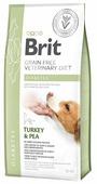 Корм для собак Brit Veterinary Diet при сахарном диабете, индейка с горошком