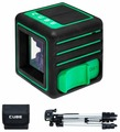 Лазерный уровень ADA instruments Cube 3D Green Professional Edition (А00545) со штативом