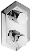 Термостатический двухрычажный смеситель для ванны Cisal Cherie CE01910021+ZA01910004