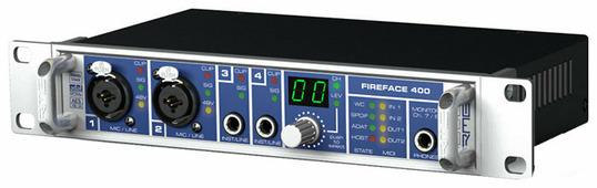 Внешняя звуковая карта RME FireFace 400