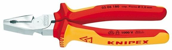 Плоскогубцы Knipex 02 06 180 180 мм