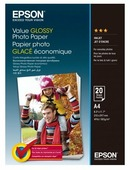 Бумага A4 20 шт. Epson Value Glossy Photo Paper