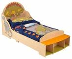 Кровать детская одно KidKraft Динозавр (без белья)