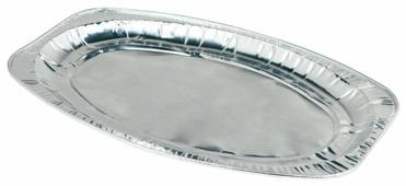 Пикничок Подносы одноразовые алюминиевые (3 шт.)