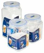 Glasslock Набор контейнеров для сыпучих продуктов IG-534 3 шт.