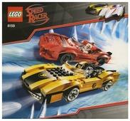 Конструктор LEGO Racers 8159 Икс и Таеджо Тогокан