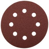 Шлифовальный круг на липучке ЗУБР 35562-125-060 125 мм 5 шт