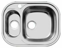Врезная кухонная мойка UKINOX Galant GAP 628.488 15-GT8K 62.8х48.8см нержавеющая сталь