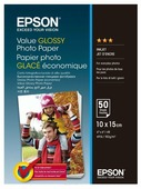 Бумага A6 50 шт. Epson Value Glossy Photo Paper