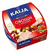 KAIJA Овощи с лососем по -итальянски, в томатном соусе, 220 г