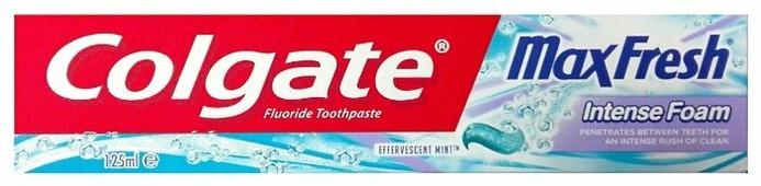 Зубная паста Colgate MaxFresh Intense Foam Mint