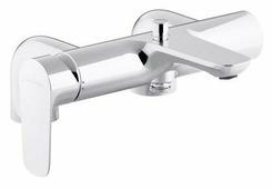 Однорычажный смеситель для ванны с душем Jacob Delafon Aleo E72283-CP