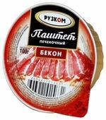 Паштет Рузком печёночный «Бекон» 100 г