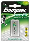 Аккумулятор Ni-Mh 175 мА·ч Energizer Accu Recharge Power Plus 9V Крона